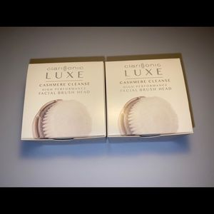 Clarisonic Brush Head ~ Luxe ~ 2 Pack ~ NEW!